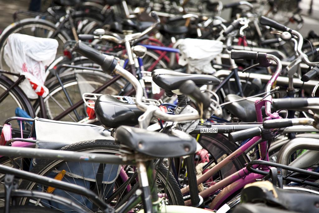 fiets fout fiets weg leiden