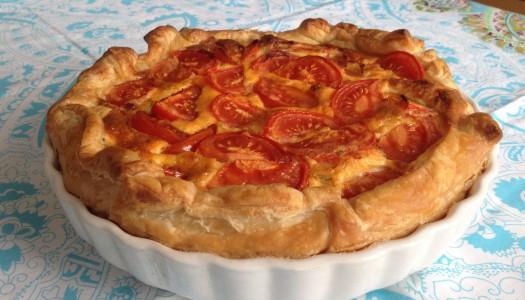 Spaanse tomatentaart