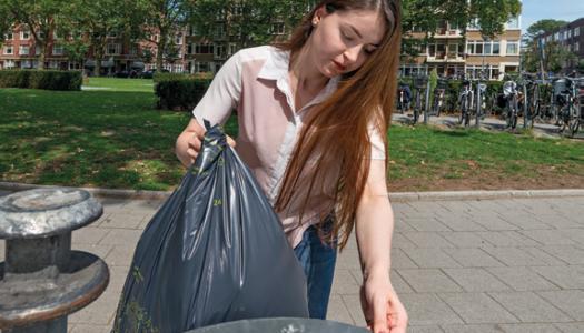Afval scheiden in Rotterdam