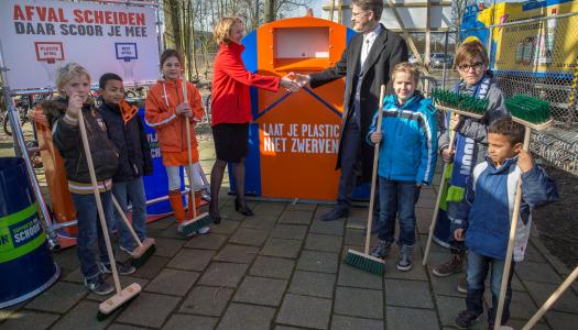 Afvalscheiding in Leeuwarden