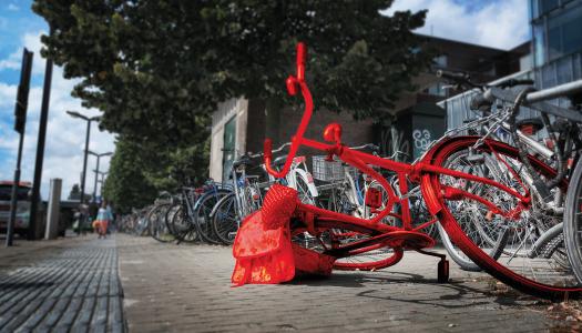 Fiets kwijt in Enschede?