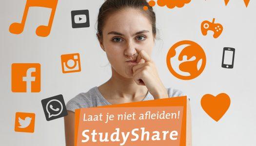 StudyShare, laat je niet afleiden!