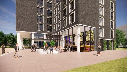 DUWO kan beginnen met nieuwbouw studentencomplex in Schilperoortpark